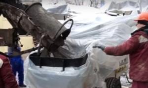 фото работ по перекачке бетона