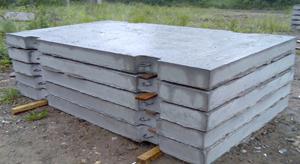 фото бетонных плит