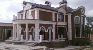 фото построенного особняка