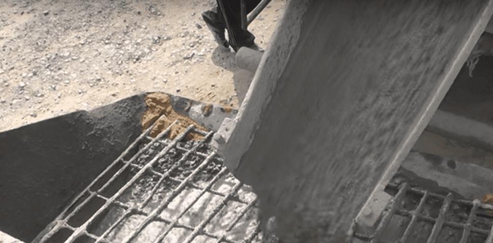 Фото заливки бетона