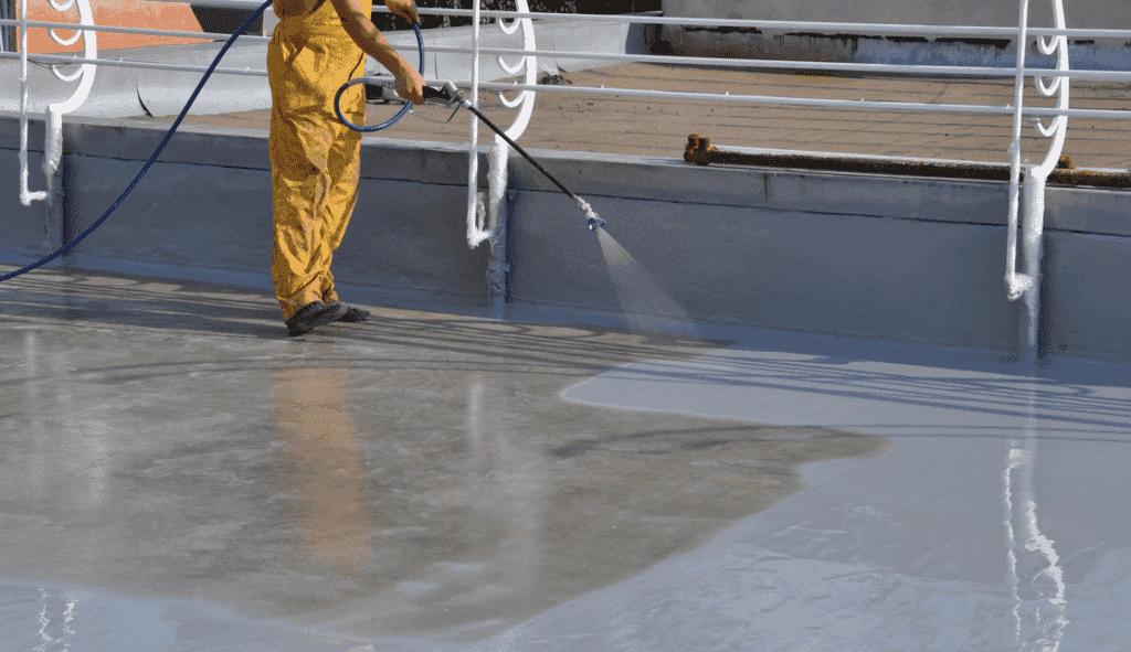 Фото заливки бетонного пола