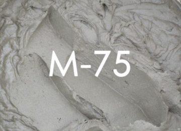 Цементные растворы м 75 противопожарная краска по бетону купить