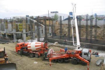 Фото доставки бетона