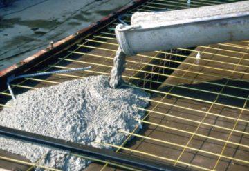 Фото заливки фундамента бетоном