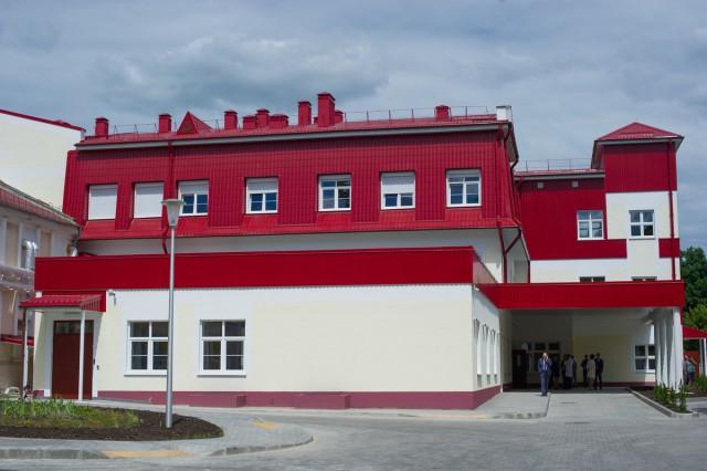 Фото корпуса городской больницы